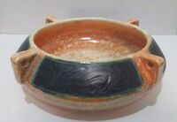 Ditmar Urbach art deco Alienware Ceramic Bowl 1930s Pottery Czechoslovakia
