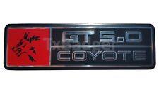 Mustang 2015-17 - Coyote GT 5.0 Dash Trim Badge Emblem - Red - TXBadger