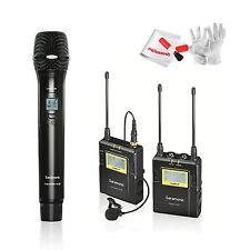 Saramonic UwMic9 96-Channel TX9+RX9 UHF Lavalier Microphone System +Microphone
