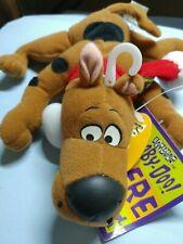 1999 Applause SCOOBY DOO Laying  Bean Bag Plush Stuffed Animal NWT free ship