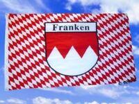 Fahne Flaggen FRANKEN MIT RAUTEN / 150x90cm TDShop24