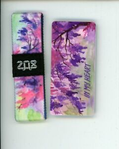 Kids Size ZOX Silver Strap IN MY HEART Wristband with Card Reversible