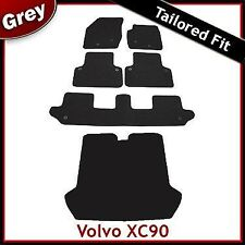 Volvo XC90 Mk1 2002-2015 Fully Tailored Fitted Carpet Car & Boot Mats GREY
