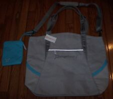 3080a9a936db Orange Theory Fitness Tote Bag Shoulder Bag Gym Bag LIGHT GREY BLUE ~ NWT   68