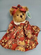 "Bearington Bears ""Vicki Foxworth"" 10"" Plush Bear- #1598 - NWT- 2005"
