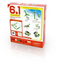 Game Solar Batteries Airport Set 6 in 1 Developing Constructor Electronic Kit
