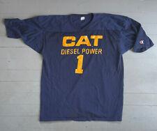 Vintage Champion Cat Power Diesel Football Jersey Usa Made Heavy Rare Xxl 80s
