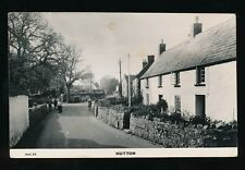 More details for somerset hutton village c1940/50s? late use c1970s rp ppc