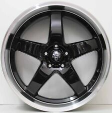 20 inch GENUINE HRS R1 ALLOY WHEELS TO SUIT FPV FORD FALCON DEEP DISH BLACK