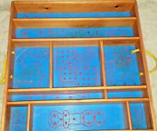 Vintage Box Toy Sorting Block Tinker-toy Erector Set Lego Lincoln Logs