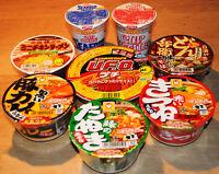 Japanese Instant Ramen, Soba, Udon, Yakisoba, 8 Cups Set, Mini