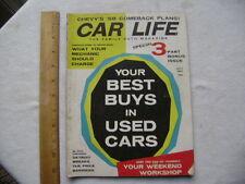 1957 Car Life Magazine - Chevrolet; De Soto; The Turnpike; Repair Cost Guide,etc