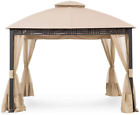 Garden Winds Replacement Canopy Top Cover for Westbrook Gazebo - Riplock 350...