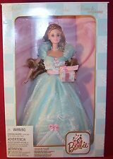 Mattel Birthday Wishes Barbie Blue Second in Series Collector Edition Mib Nrfb
