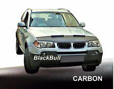 CAR Bra BMW x3 e83 anno 2004–2010 CAR Bra pietrisco protezione auto maschera CARBONIO