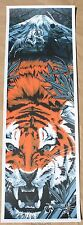 Anthony Petrie Warrior's Dream Part III Tiger Fight Poster Art Print Variant
