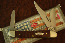 CASE XX USA 5 DOT 2015 DELRIN SERPENTINE STOCKMAN KNIFE NICE 63087 SS (31)