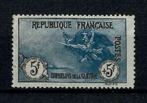 "FRANCE STAMP TIMBRE N° 155 "" ORPHELINS LA MARSEILLAISE 5F+5F "" NEUF x TTB  V573"