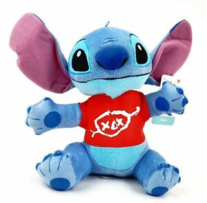 "DISNEY'S Lilo & Stitch - STITCH ❤️ 10"" Plush Toy Teddy Bear Stuffed Animal NWT"
