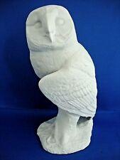 John Beswick Large White Bird Unglazed Owl 8 1/4 inch, Figure, New, Boxed, JBWB2