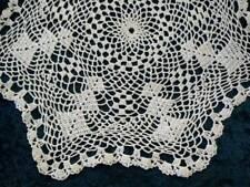Gorgeous Light Cream Hand Crochet Doily