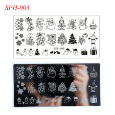Silver Stamping Plates Nail Art Accessories For Sale Ebay