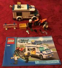 LEGO 7286 City Prisoner Transport 100% Complete No Box,  Retired