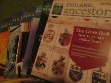 Original 2000 - 2009 Lot of 39 NEW ENGLAND ANCESTORS Magazines Genealogy 345A7