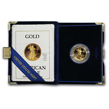 1/4 oz Proof Gold American Eagle Random Year with Box & Certificate - SKU #59346
