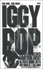 Iggy Pop 1994 Original Portland Concert Poster