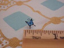 OOAK 1:12 Dollhouse Miniature Blue Swallowtail Butterfly Garden Fairy Pet Easter