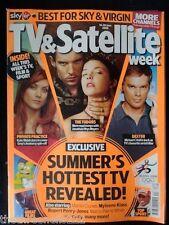 TV & SATELLITE WEEK - SUMMER HOTTEST TV - 14 JUNE 2008