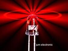 20 Stück Leuchtdioden  /  Led / 5mm rund ROT 1000mcd max. / Abstrahlwinkel 40°