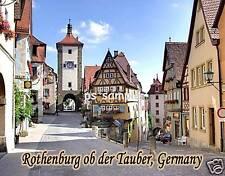 Germany - ROTHENBURG #2 - Travel Souvenir Flexible Fridge Magnet