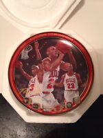 "Michael Jordan ""1992 NBA CHAMPIONSHIP"" BULLS Plate Bradford Exchange UpperDeck"