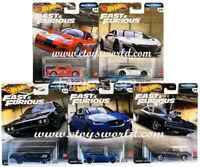 2020 Hot Wheels 1/64 Fast & Furious Premium Full Force Cars Set of 5 GBW75-956H