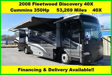 2008 Fleetwood Discovery Used Diesel Pusher Motor Home Coach Motorhome RV MH