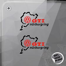 STICKER NÜRBURGRING VOLKSWAGEN GTI POLO GOLF VINYL DECAL STICKER AUTOCOLLANT