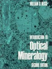 Introduction to Optical Mineralogy by William D. Nesse (1991, Hardcover,...