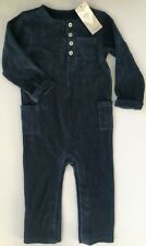 18 -24 Months Boys M&S Dark Blue  All in One Outfit