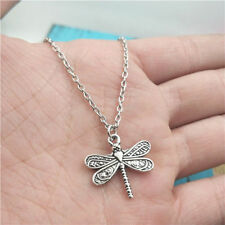 Dragonfly silver Necklace pendants fashion jewelry accessory,creative Gifts