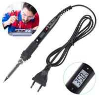 LCD 80W Digital Display Adjustable Temperature Electric Soldering Welding Iron