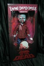 Living Dead Dolls Plaid Shirt Zombie Dawn of the Dead George Romero sullenToys