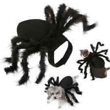 Halloween Spider Dog Costume Pet Costumes Outfit Apparel Cosplay Furry Spider