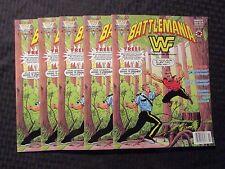 1991 BATTLEMANIA Magazine #3 NM 9.4 Valiant Big Boss Man The Mountie LOT of 10