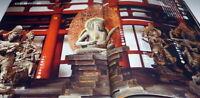 Japanese Buddharupa in Kyoto Full-Scale Photo book Japan Buddha statue #0944