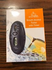 Drive Safety Breath Alcohol Tester with Timer Led , key chin Free Shipping