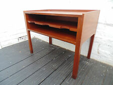 RETRO DANISH MORTEN OLSEN SOLID TEAK HALL CABINET TABLE *FREE DELIVERY VINTAGE