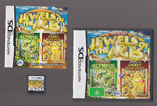Jewels of the Ages Olympus + Ancient Pharaoh's (Nintendo DS with Booklet manual)