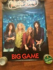 WHITE LION SIGNED/AUTOGRAPHED POSTER BY ENTIRE BAND MIKE TRAMP